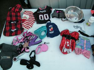 Small Dog clothes, Luggage,etc! for Sale in Tucson, AZ