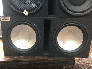 12 in subs with amp for Sale in Durham, NC