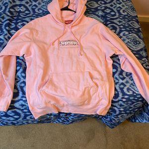Supreme Pink Bandana Bogo Hoodie for Sale in Fort Washington, MD