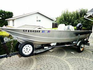 14-foot Gregor aluminum fishing boat for Sale in Hacienda Heights, CA