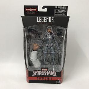Marvel legends series spider-man silver sable BAF Kingpin for Sale in Los Angeles, CA
