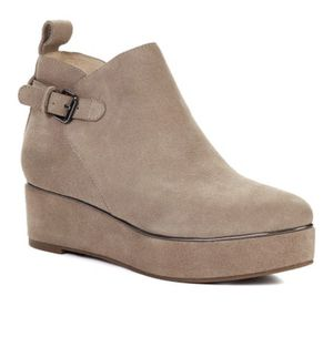 Klik Footwear Suede Wedge Boot for Sale in Aventura, FL