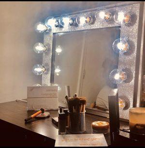 Glitter vanity mirror for Sale in East Lansing, MI