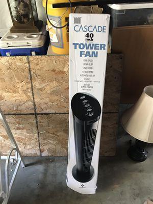 40 inch tower fan like new for Sale in Aurora, CO
