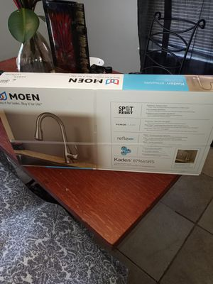 Moen Kitchen faucet for Sale in Maple Heights, OH