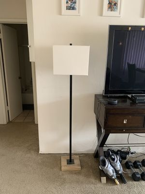 Modern tall floor lamp for Sale in San Diego, CA