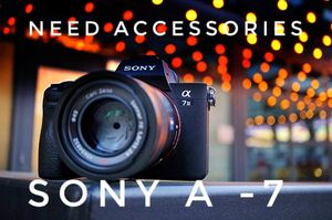 I need sony accessories for Sale in Hanover Park, IL