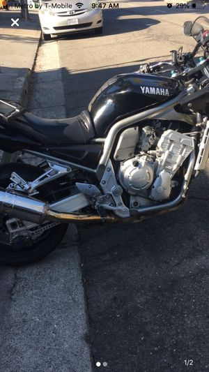 Yamaha FZ1 1000cc Motorcycle for Sale in Richmond, CA