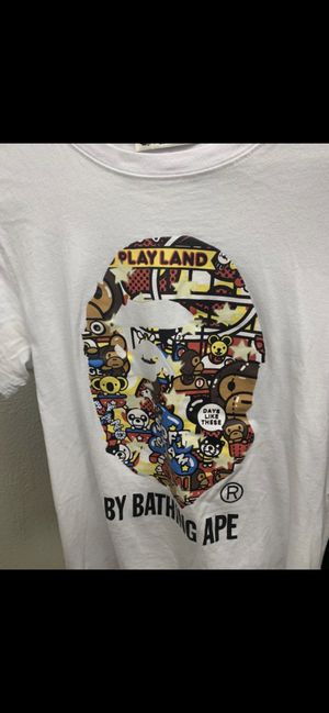 Bape T's with bags and tags for Sale in Oregon City, OR