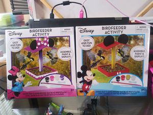 Disney Mickey and Minnie Mouse Complete Birdhouse sets NEW for Sale in Detroit, MI