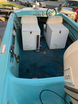 !!!Needs a new ignition switch, runs, and strong motor, all original'1965 P14 seawirl. Title for boat and trailer trailer has permanent plates from C for Sale in Las Vegas, NV
