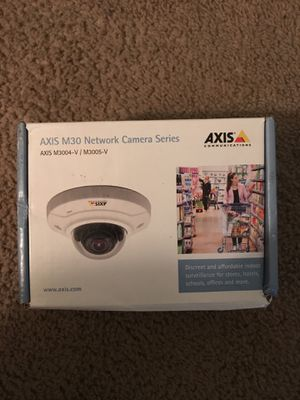 Axis M3005-V indoor IP cam for Sale in Hyattsville, MD