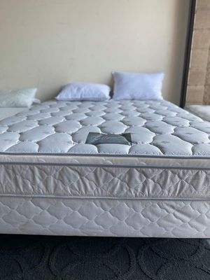 Orthopedic Euro Pillowtop Innerspring Mattress | Made in USA 🇺 NO CREDIT CHECK $0 DOWN FINANCING OPTIONS for Sale in San Diego, CA