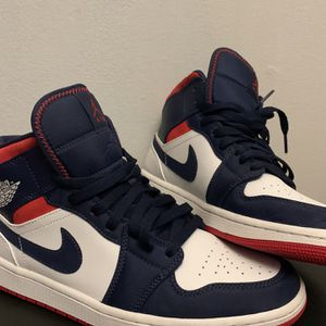 "Air Jordan 1 Mid SE GS ""USA"" for Sale in Long Grove, IL"