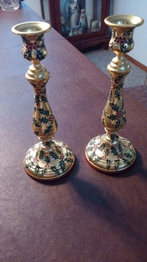 Cloussone Tall Christmas Candle Holders for Sale in Rio Rancho, NM