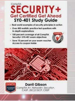 Comptia Security + syo-401 study quide for Sale in Richmond, VA