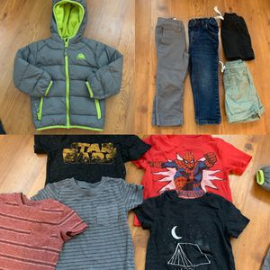 2T boys lot shirts pants jacket gap cat and jack for Sale in Draper, UT