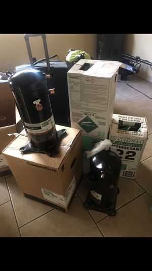 3ton compressor r22 brand new $900 replacement out of door with one year warranty for Sale in Phoenix, AZ