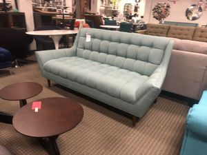 Laguna blue sofa couch for Sale in Rockville, MD