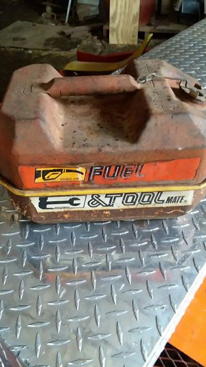 Vintage Combination Gas Can/ Toolbox for Sale in Beebe, AR