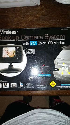 """Wireless* Back up Camera System with 2.5"""" Color LCD Monitor for Sale in San Antonio, TX"""