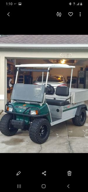 Clubcar Turf 2 XRT Gas ($4500 obo...) Trades Welcome for Sale in Sarasota, FL