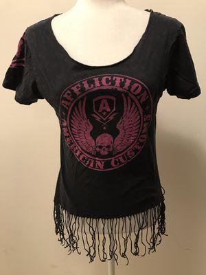 Affliction American Customs Fringe T-Shirt for Sale in Deptford Township, NJ