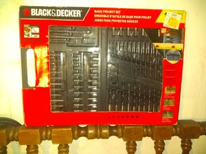Black and Decker Basic Set for Sale in Washington, DC