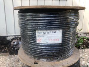 1000 FT series 75 OHM coax Burial cable for Sale in Reading, PA