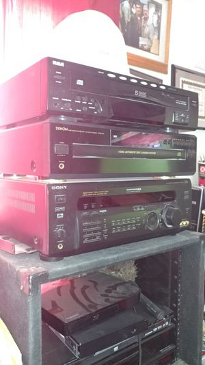Receiver. Sony. & CDS PLAYER. $$ 100 for Sale in Tolleson, AZ