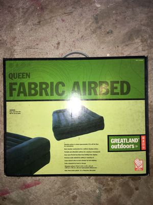 Queen Size Air Mattress for Sale in Coral Springs, FL