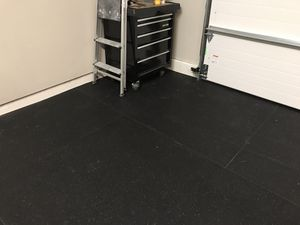 "3/4"" Rubber flooring 20x20 for Sale in Snohomish, WA"