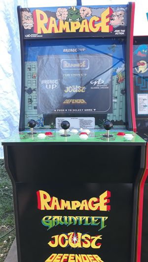 Rampage arcade game for Sale in Fayetteville, GA