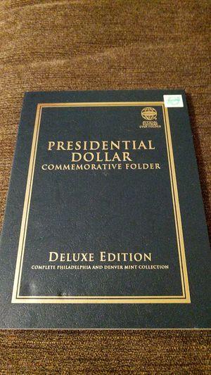 Presidential dollar coin album for Sale in Bangor, ME