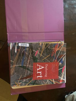 Exploring Art 5th Edition Paperback for Sale in Compton, CA