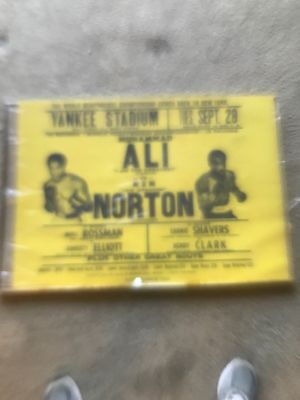 Original poster of Ali vs Norton for Sale in District Heights, MD