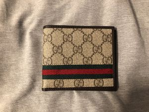 New Gucci Wallet, with original gift receipt and box for Sale in Pasadena, CA