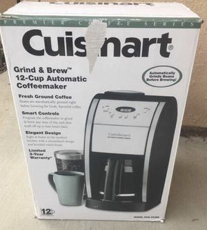 Cuisinart Grind & Brew 12 Cup Automatic Coffee Maker - Black for Sale in San Luis Obispo, CA