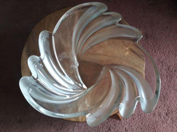 Asymmetric Crystal Bowl