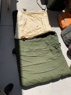 Large camping sleeping bag for Sale in Yorba Linda, CA