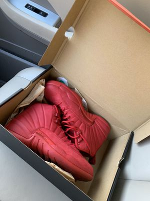 Size 8.5 Suede 12s never worn $150 obo for Sale in Washington, DC
