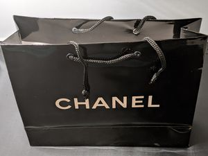 Chanel Black Bag w/White Lettering for Sale in San Diego, CA