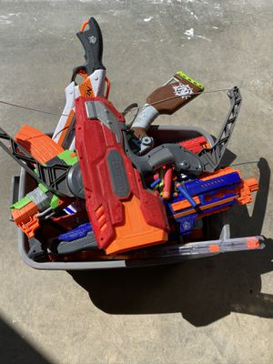 Assortment of Nerf Guns for Sale in Redmond, WA