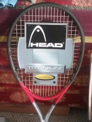 BRAND NEW Head Titanium Tennis Racket - BEST OFFER BY 10 PM SUNDAY 8/28 TAKES IT! for Sale in Seattle, WA