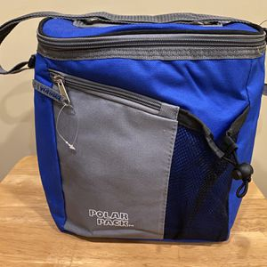 Blue And Grey Polar Pack Cooler for Sale in Plainview, NY