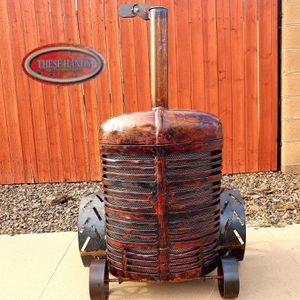 Tractor fire pit/smoker for Sale in Chandler, AZ