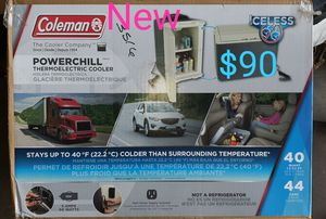 Coleman powerchill thermoelectric cooler for Sale in Bakersfield, CA
