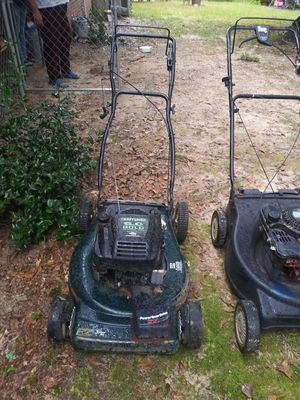 Three Lawn Mowers for one working one for Sale in Winder, GA
