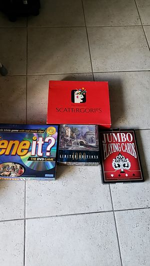 Games and puzzle for Sale in Pompano Beach, FL