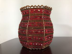 PartyLite Moroccan Spice Beaded Votive Candle Holder Wall Sconce for Sale in Davison, MI